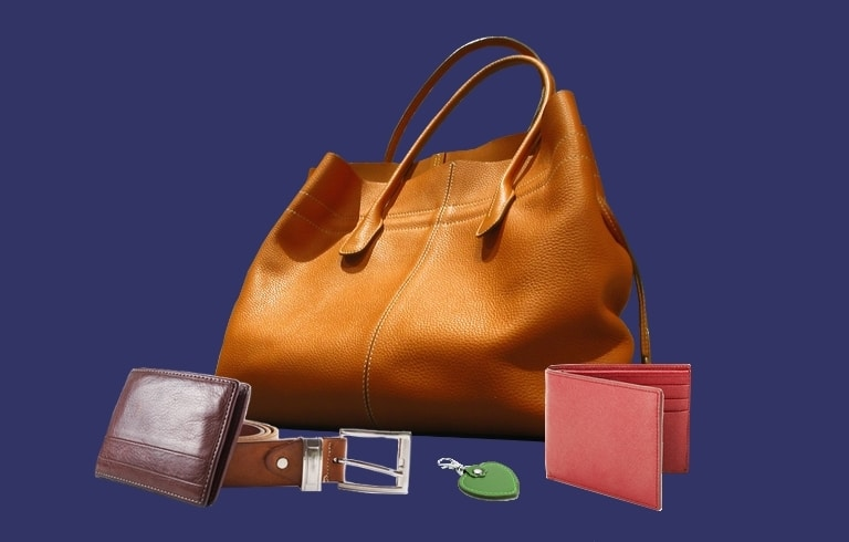 accessoires maroquinerie cuir